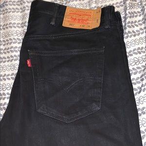 Black 501 Levi Jeans